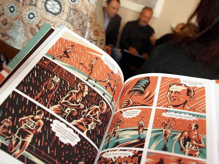 Představení komiksu o Emilu Zátopkovi