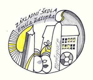 Základní škola Emila Zátopka Kopřivnice logo školy